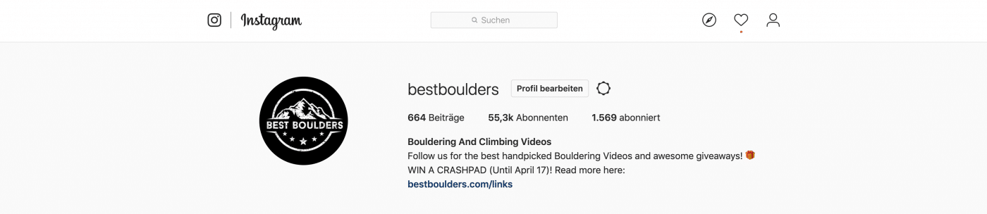 Bestboulders Banner Instagram