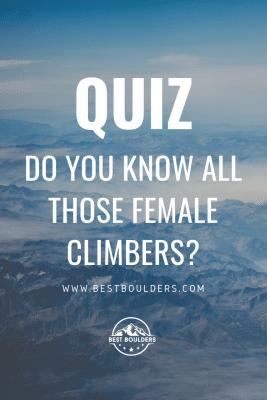 quiz: do you know those female climbers?