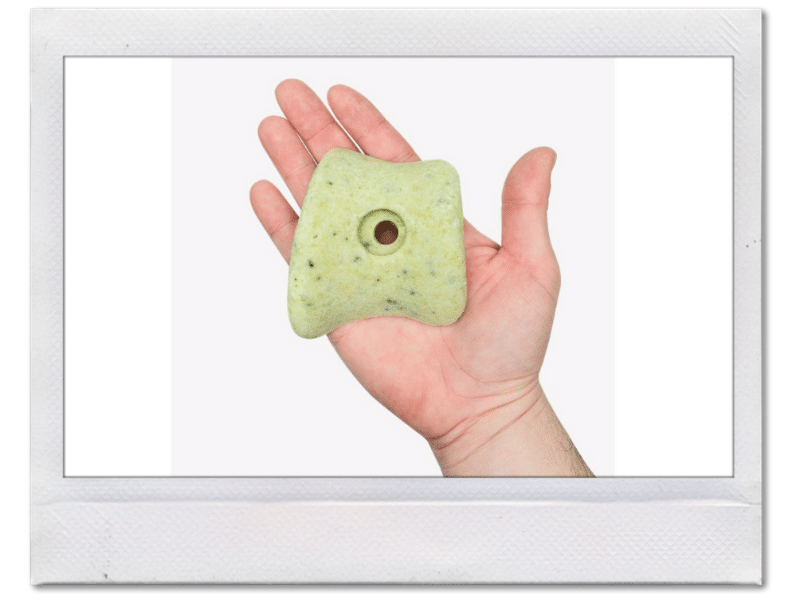 Climbing hold soap for climbers by so ill